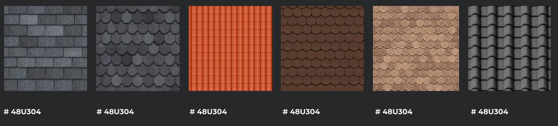 roof shingle options